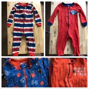 Baby boy pajamas (set of 4)